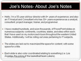 Joe's Notes About Joe's Notes PDF