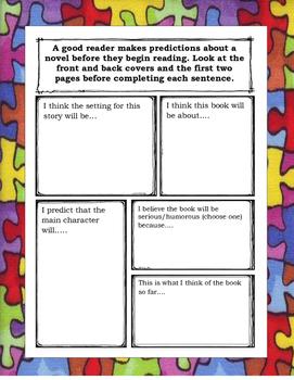 Joey Pigza Swallowed the Key ELA Novel Reading Study Guide Teaching Unit