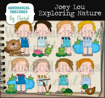 Joey Lou Exploring Nature Clipart Collection