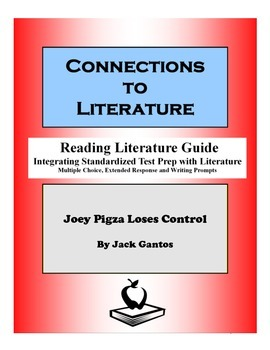 Joey Pigza Loses Control-Reading Literature Guide