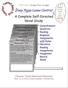 Joey Pigza Loses Control: A Complete Novel Study