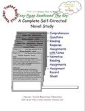 Joey Pigza Swallowed the Key: A Complete Novel Study