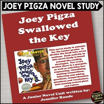 essay on joey pigza swallowed the key Joey pigza swallowed the key by jack gantos chapter 1: off the wall 1) what do they say about joey at school he is wired bad, mad, sad, or glad.