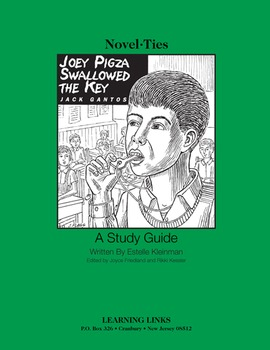 Joey Pigza Swallowed the Key - Novel-Ties Study Guide