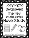 Joey Pigza Swallowed the Key by Jack Gantos Novel Study
