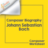 Johann Sebastian Bach | Composer Biography & Worksheet
