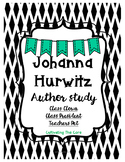 Johanna Hurwitz Author Study:  Class Clown, Class President & Teacher's Pet
