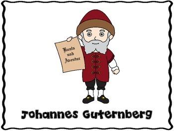 Johannes Guternberg (Inventor Graphic Organizers)