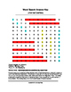 Johannes Gutenberg Word Search (Grades 4-5)