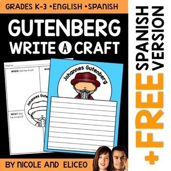 Writing Craft - Johannes Gutenberg Inventor
