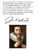 Johannes Kepler Handout