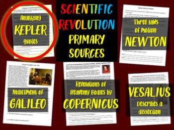 Johannes Kepler - Scientific Revolution Primary Source wit