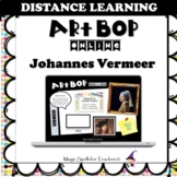 Johannes Vermeer - Famous Artist Activity Cards - DISTANCE