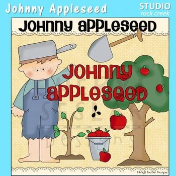 Johnny Appleseed Clip Art C Seslar