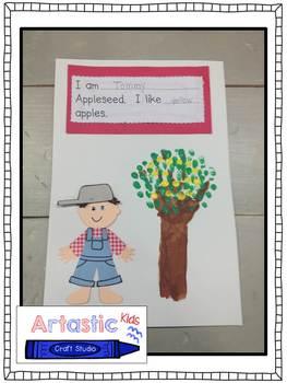 Johhny Appleseed Craftivity!