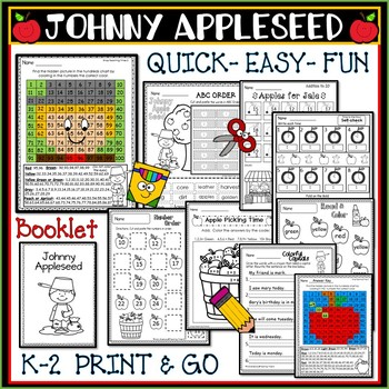 Johnny Appleseed K-2 : Easy Print and Go