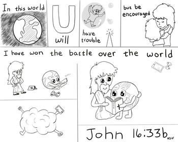 John 16:33b Visual Verse