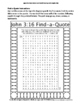 John 3:16 Coloring Page and Word Puzzles