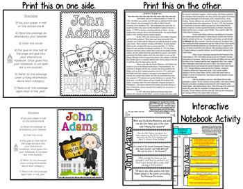 John Adams: Biography Reading Passage: American Revolution