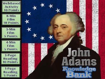 John Adams (Alien & Sedition Acts) Digital Knowledge Bank
