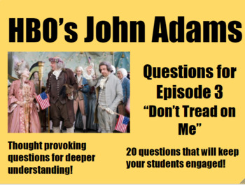 John Adams Episode 3 (Don't Tread on Me)