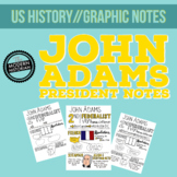 John Adams Graphic Notes BONUS BLANK NOTE PAGE