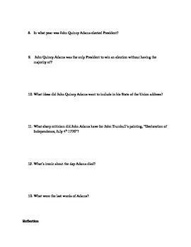 John Adams: HBO Mini-Series (Movie Questions Pt 7)
