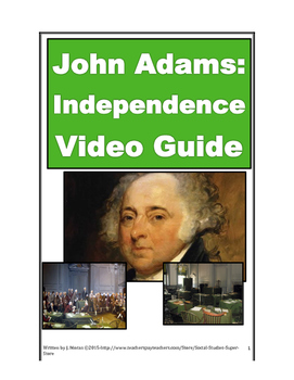 John Adams - Independence - Part 2 of HBO mini series