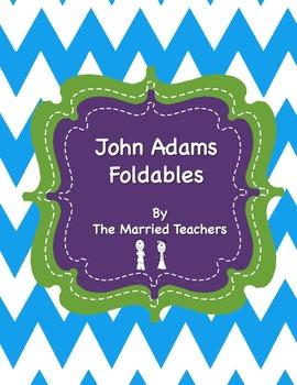 John Adams Interactive Historical Figure Foldables