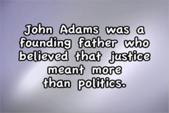 President John Adams - Music Video Bundle (with quiz)