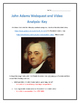 John Adams- Webquest and Video Analysis with Key
