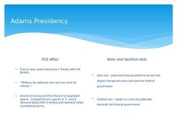 John Adams and Thomas Jefferson PowerPoint