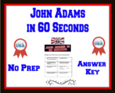 John Adams in 60 Seconds