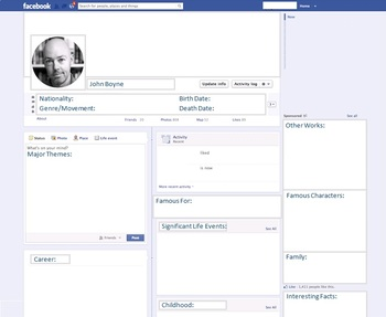 John Boyne - Author Study - Profile and Social Media