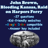 John Brown, Bleeding Kansas, Raid on Harpers Ferry