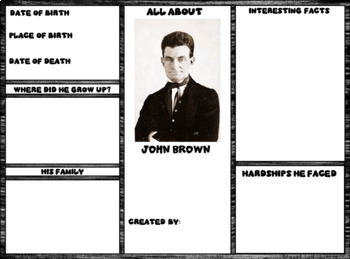 John Brown Digital Research Brochure in Google Slides™