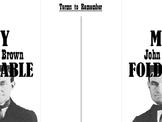 John Brown Foldable