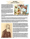John Brown: Hero or Villain? Poster Lesson Plan