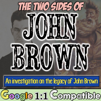 John Brown: Hero or Criminal? Investigate John Brown's Legacy! Civil War!