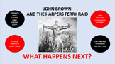 John Brown and the Harper's Ferry Raid:  What Happens Next?