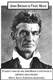 Analyzing Historical Perspectives in the News: John Brown *Editable