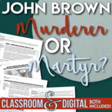 John Brown's Raid at Harper's Ferry Martyr or Murderer? Point of View