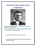 John Brown's Raid on Harpers Ferry Webquest (With Answer Key!)