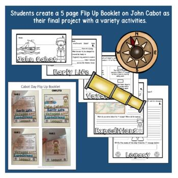 Early Explorers: John Cabot Complete Unit with Articles & Activities
