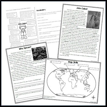 John Cabot: 3rd Grade Explorer Unit