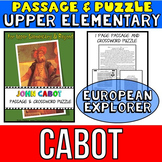 John Cabot Reading Passage: Biography: Comprehension Crossword Puzzle