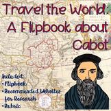 John Cabot Explorer Research Flipbook
