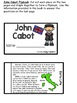 John Cabot Flipbook (Interactive Notebooks