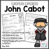 John Cabot: 3rd grade Interactive PowerPoint