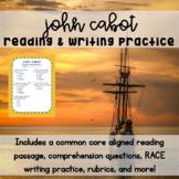 John Cabot Reading & Writing Practice